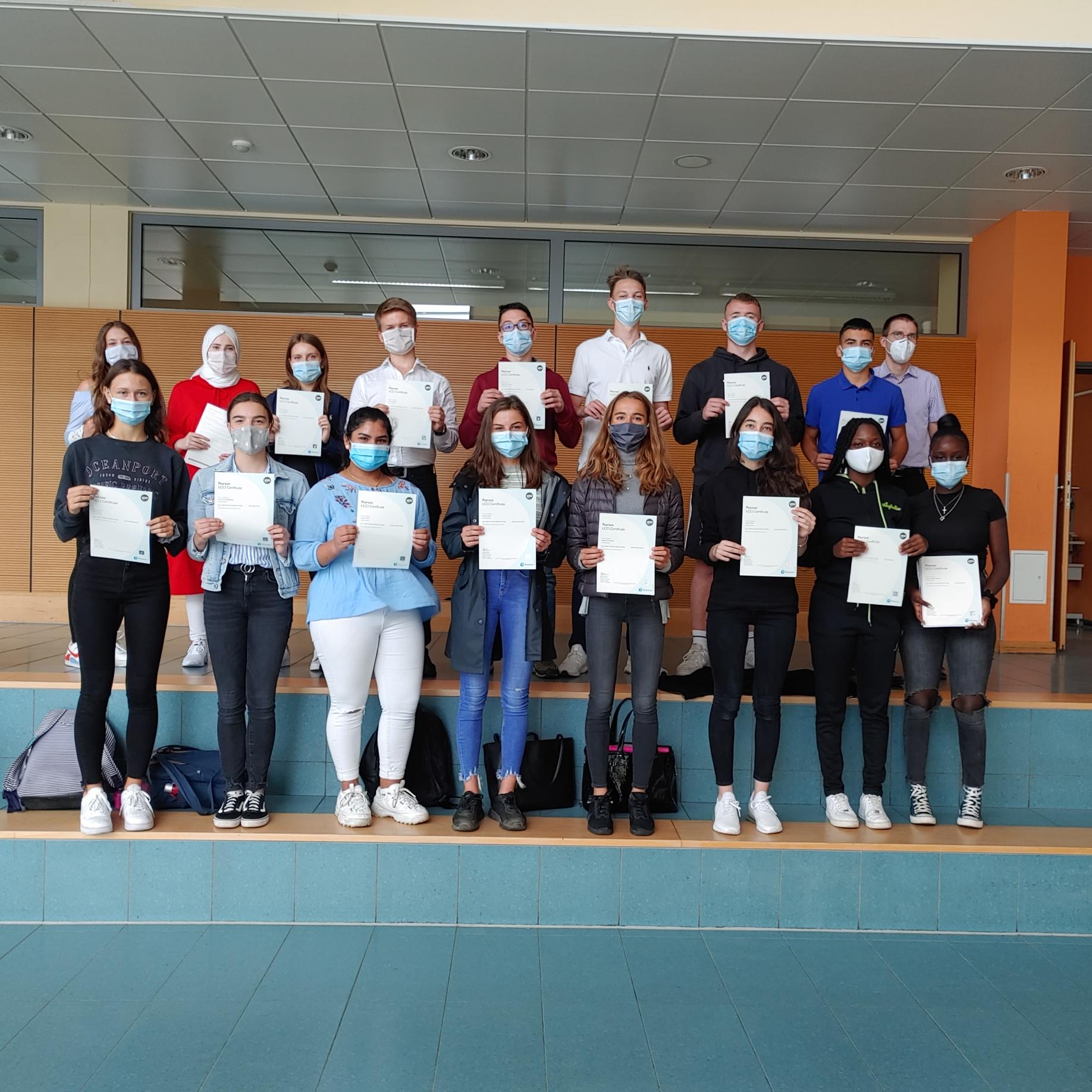 EfB Verleihung der Zertifikate