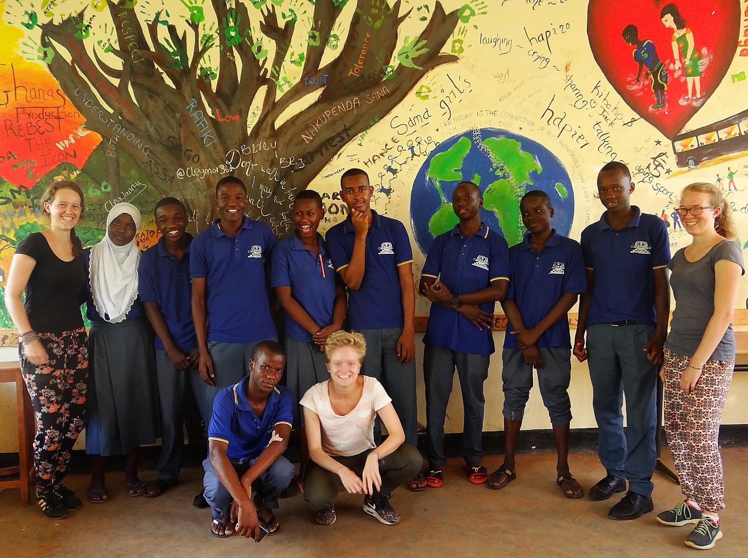 Educational Volunteers der HUS in Mwanga