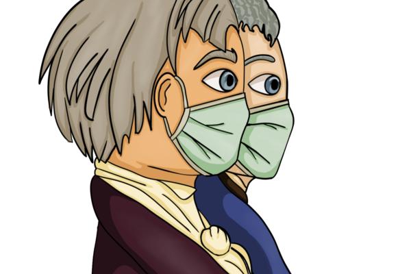 Humboldt mit Maske - Mia