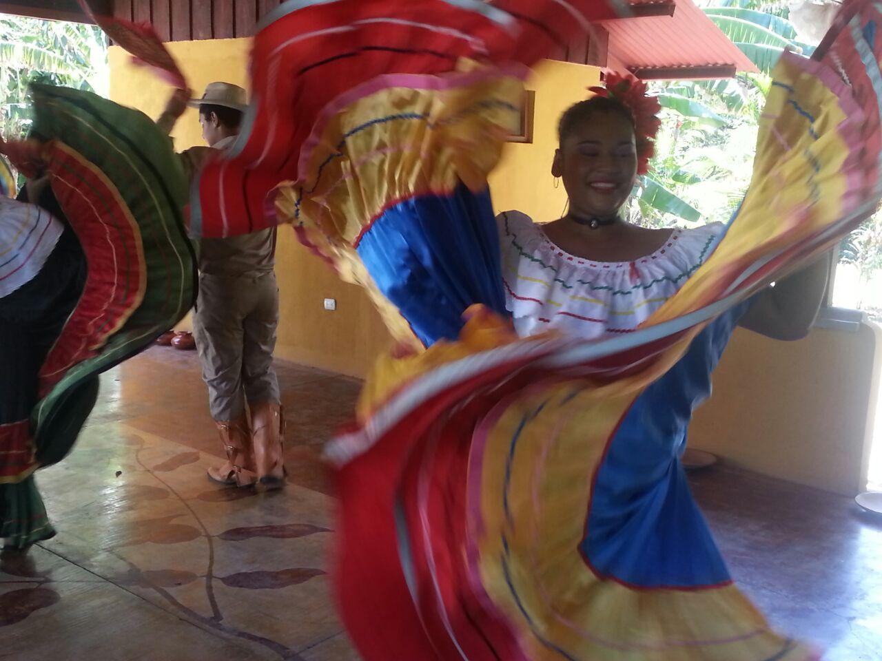 Folkloretanz in Costa Rica